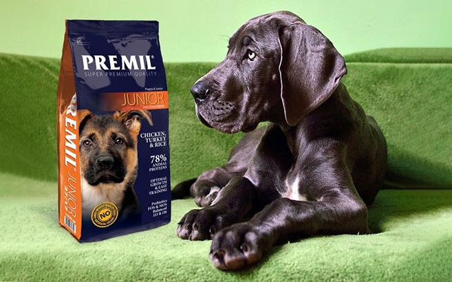 Τροφές Premil